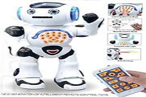 Top Race Remote Control Walking Talking Toy Robot Dances Sings Reads Stories ...