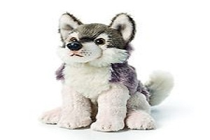 Stuffed Animals Wolf Strongly Beanbag Puppy Doll Gift Dog Toys Child Kids 5.5